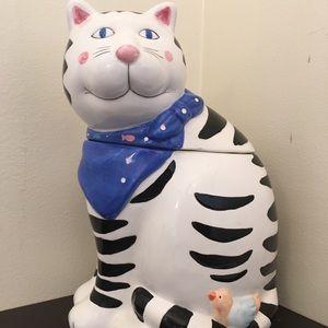 Coco Dowley Cat Cookie Jar